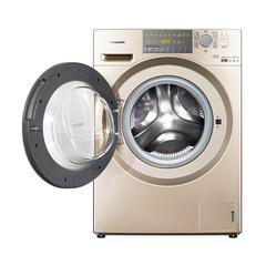 松下罗密欧系列烘干滚筒洗衣机 XQG90-EG92N 香槟金