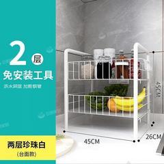 储物架小推车置物架落地卧室客厅零食收纳架厨房沥水果蔬菜篮子架