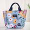 新款带饭手提袋子帆布妈咪包饭盒包便当包手拎装饭盒袋手提包(大小款)
