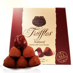 良品生活比利时松露巧克力(代可可脂)168g/300g盒