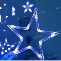 Led星星灯少女卧室装饰彩灯闪灯串灯满天星网红房间布置窗帘挂灯