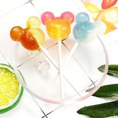日本迪士尼米奇头棒棒糖3只装