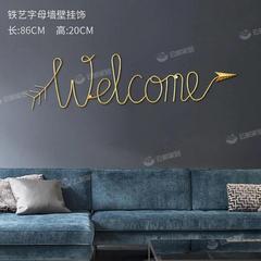 墙上装饰品挂件客厅装饰品背景墙挂饰房间ins墙面壁装饰金属壁饰