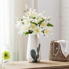 仙人掌花瓶三件套