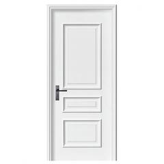 威纳木门 现代北欧纯白色烤漆实木木门Y-6215  实木复合烤漆木门