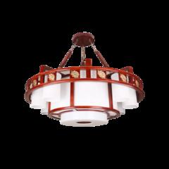 超班中式木艺  中式吊灯